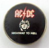 AC/DC - 'Highway to Hell' Prismatic Crystal Badge